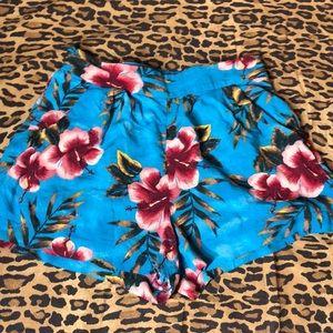 Flower shorts
